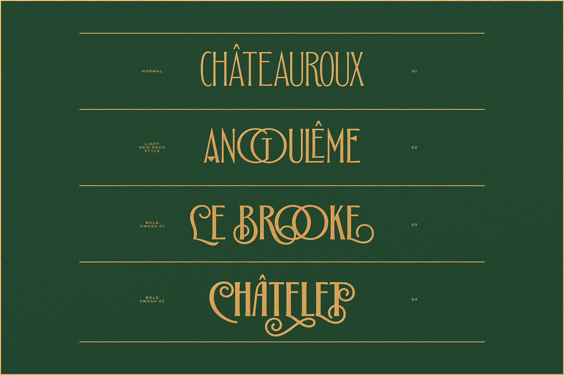 Alathena Font Family example image 5
