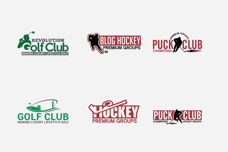 173 Sports Badges and Logo Bundle example image 17