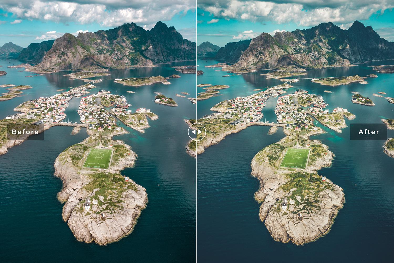 Norway Mobile & Desktop Lightroom Presets example image 3