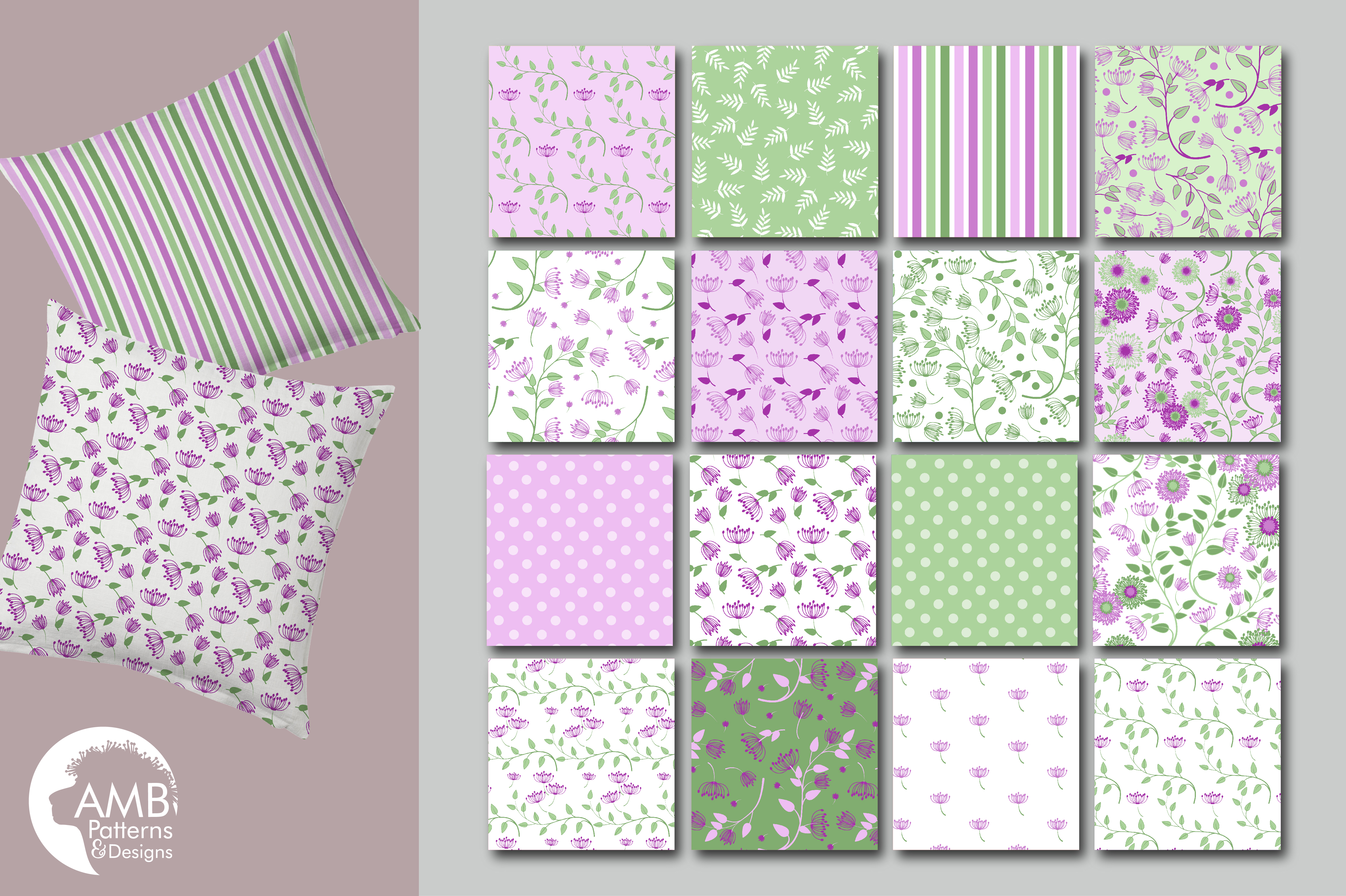 Shabby Chic Floral Backgrounds Violet Floral Papers Purple Floral