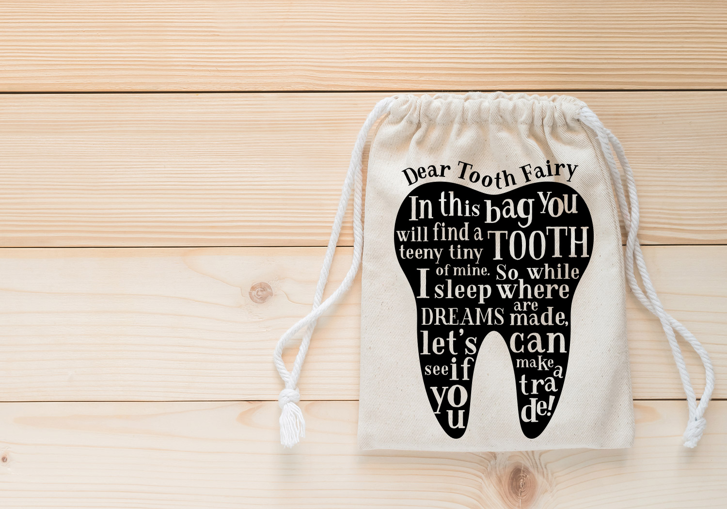 Make Your Own!! Tooth Fairy Cut File Bundle example image 6