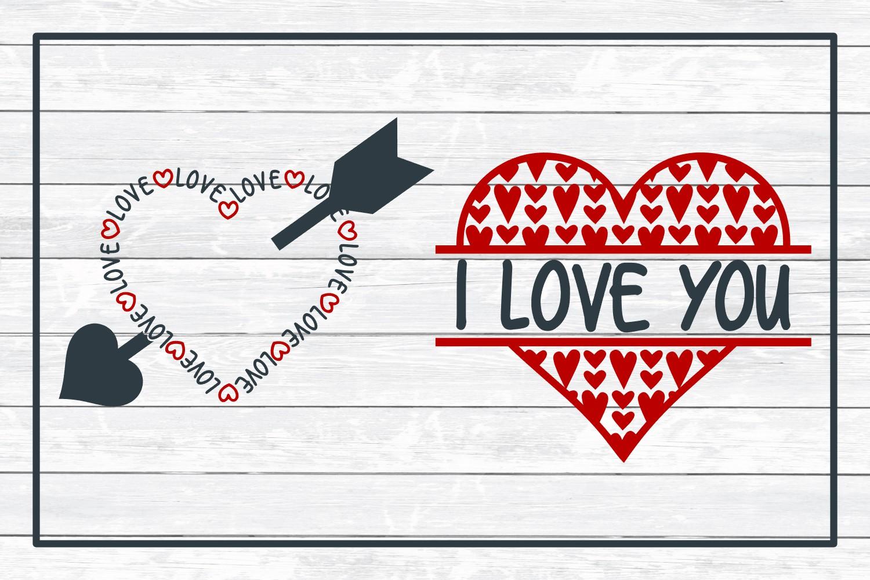 Love Design Bundle - Valentine SVG Cut Files example image 4