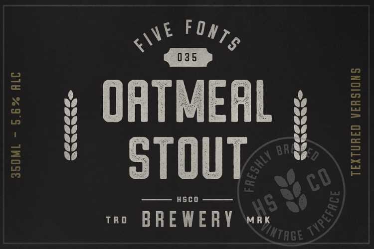 Oatmeal Stout - 5 Styles example image 1