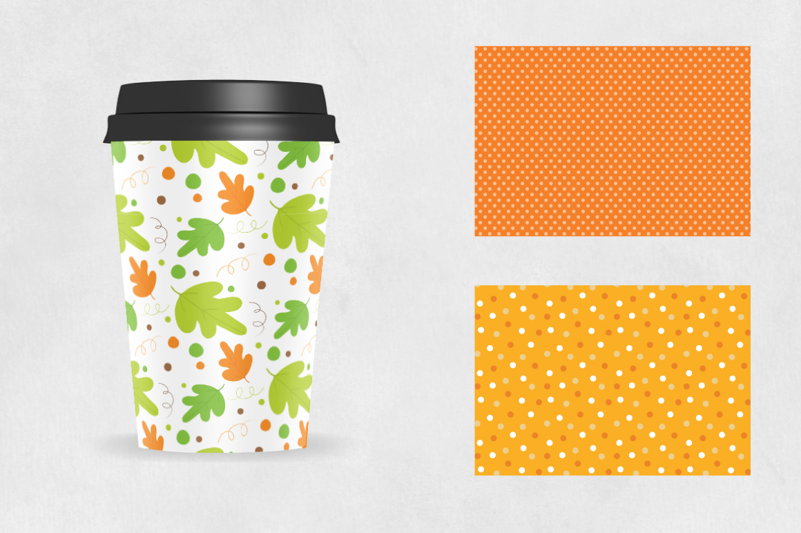 FALL-TREATS, digital papers example image 2