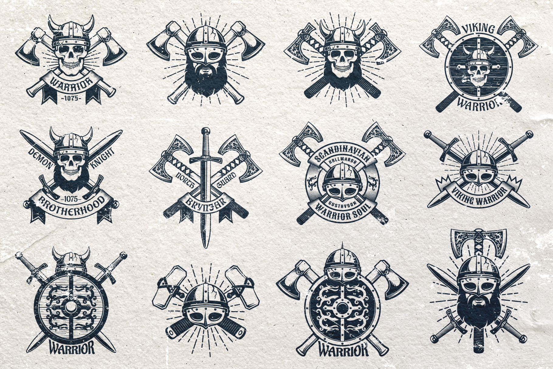 Viking Emblem Bundle example image 2