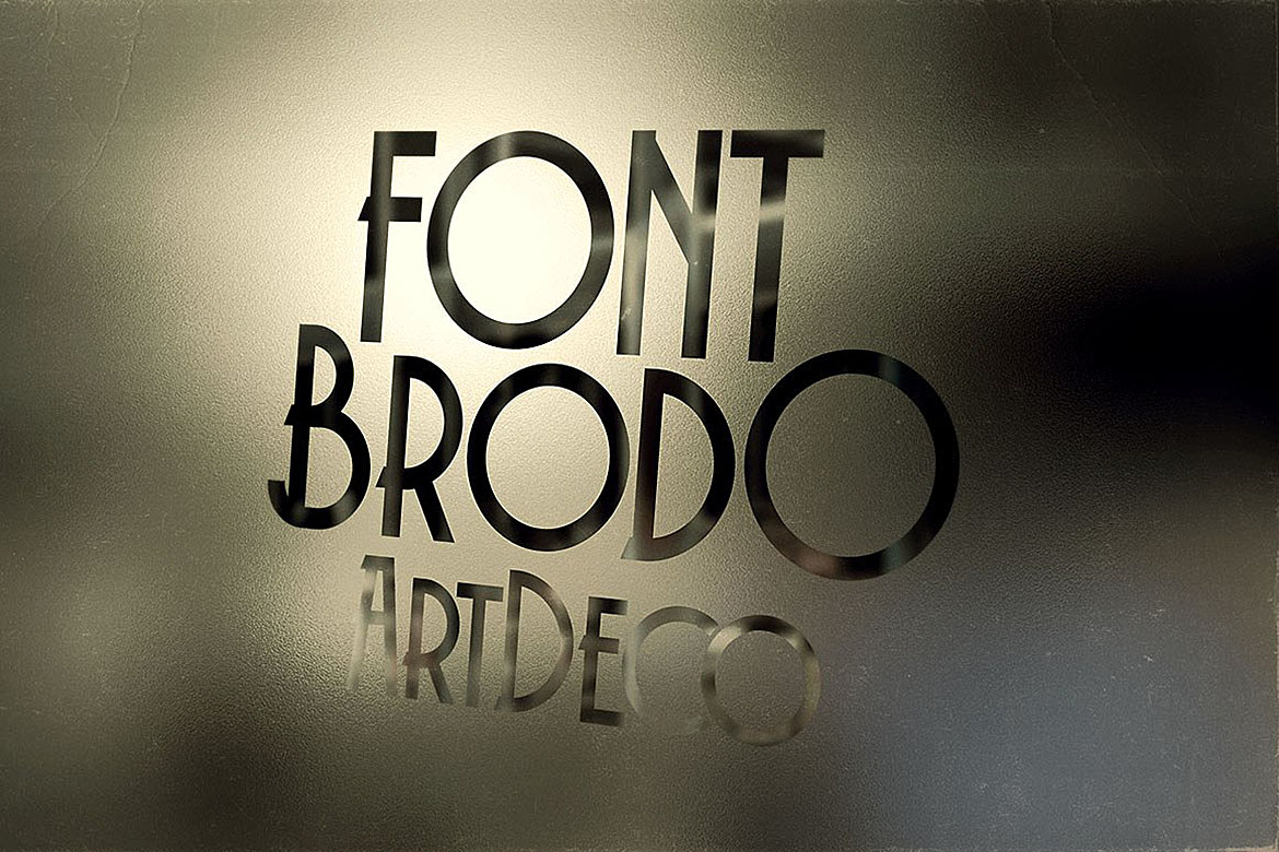 Brodo - Display Font example image 5