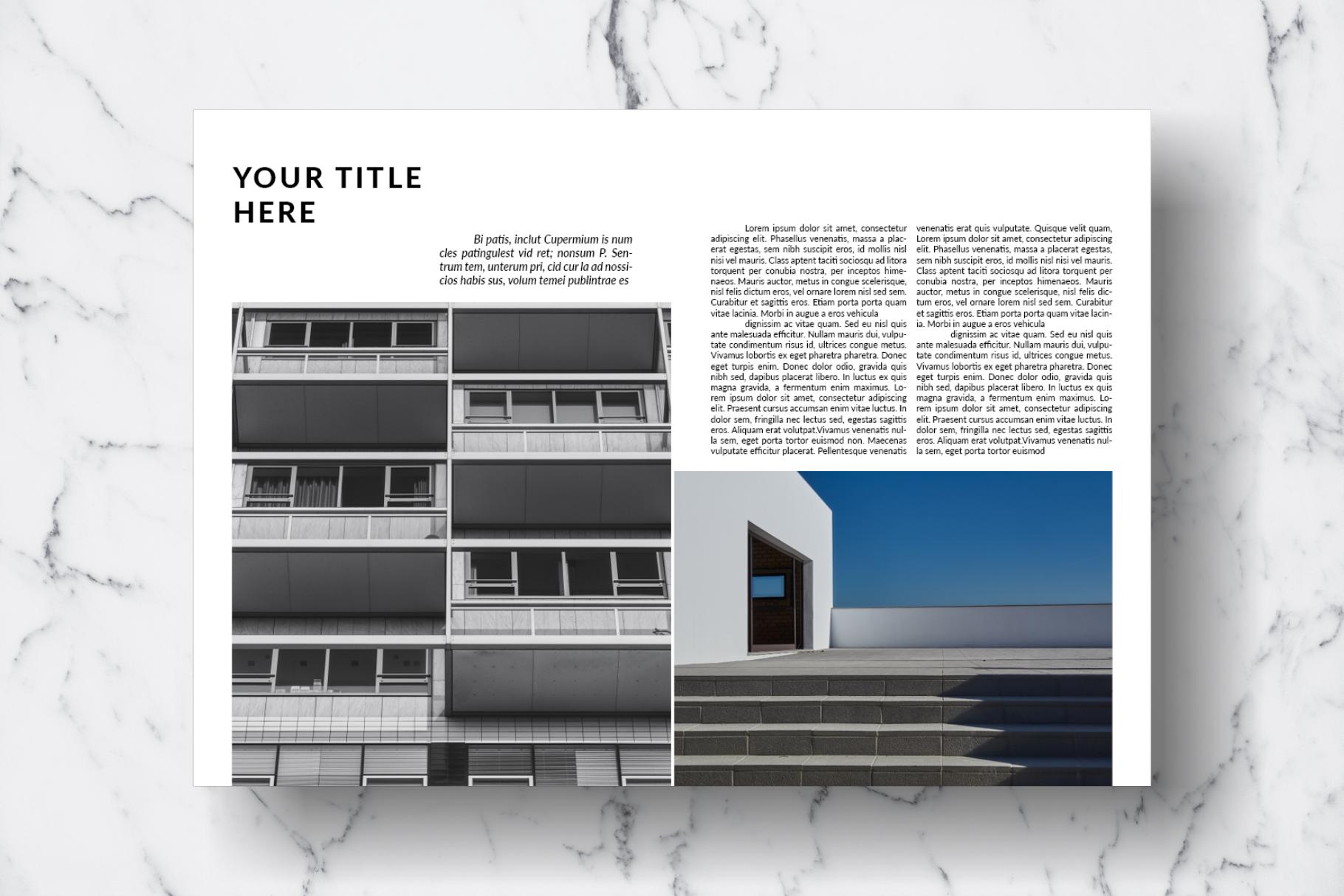 Magazine Template Vol. 13 example image 15