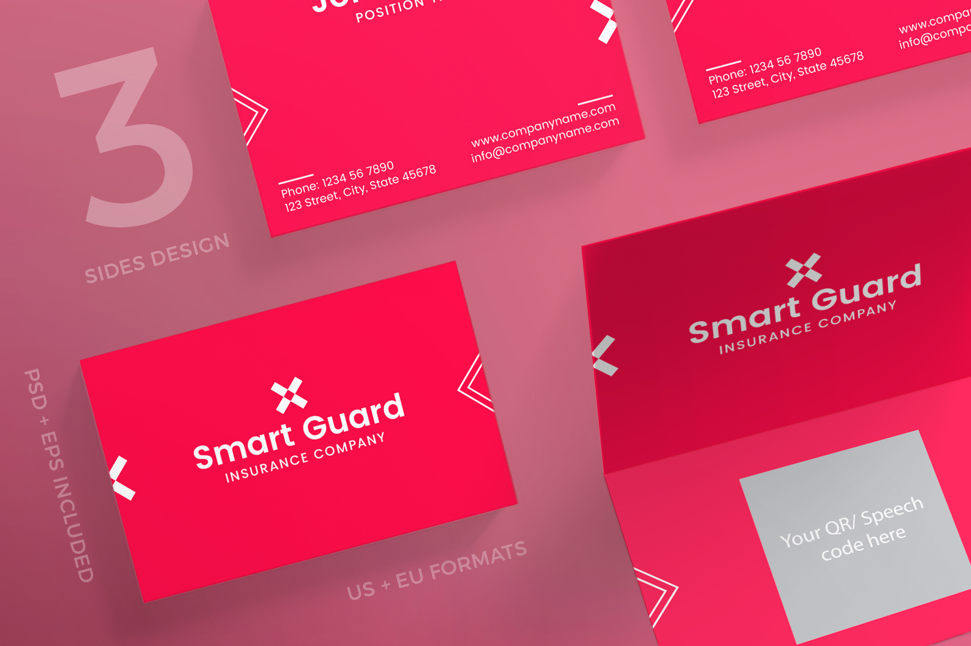 Insurance company business card design templates kit insurance company business card design templates kit example image 1 colourmoves