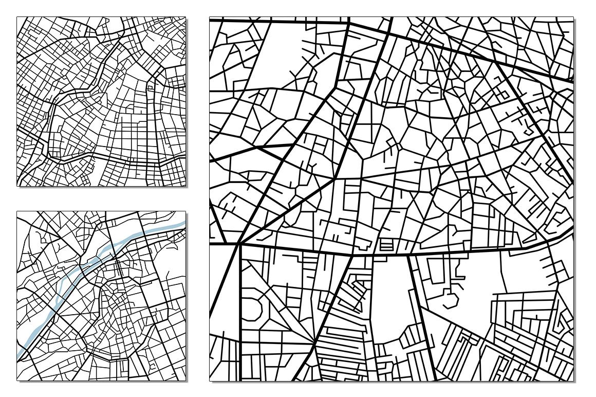 Street maps illustrations example image 6