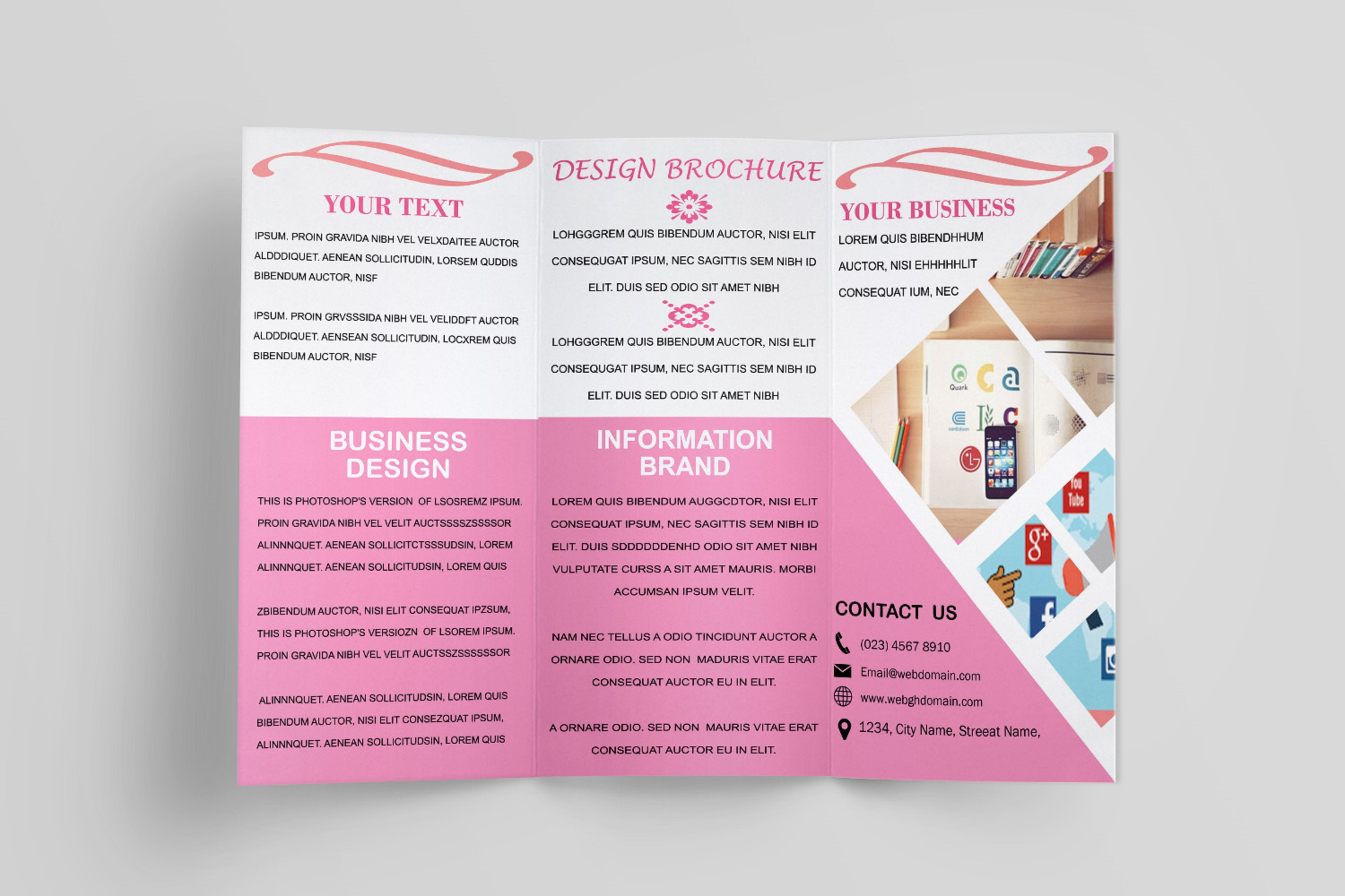 Trifold Brochure Template example image 9