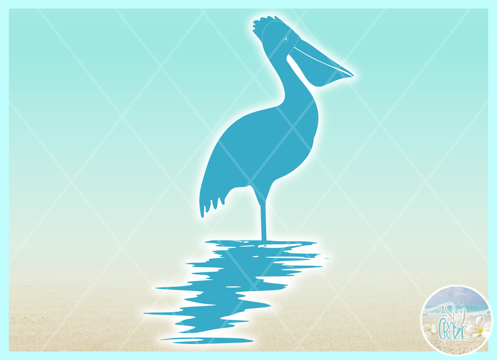 Birds In Water Silhouette Bundle Svg Dxf Eps Png PDF example image 5