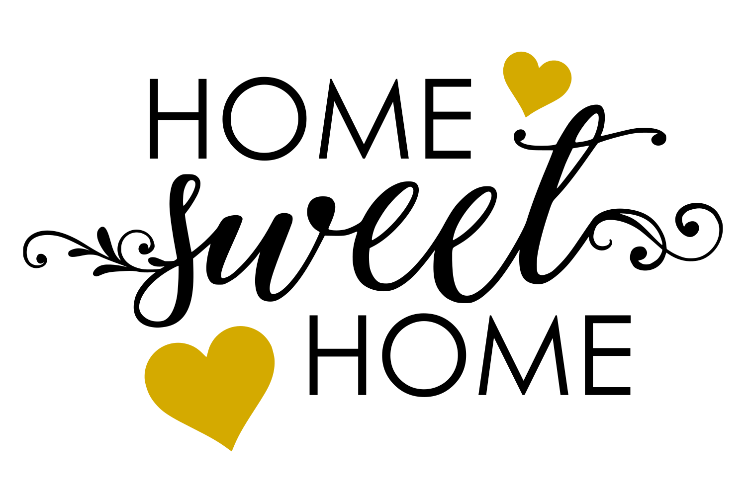 Home Sweet Home SVG (95522) | SVGs | Design Bundles