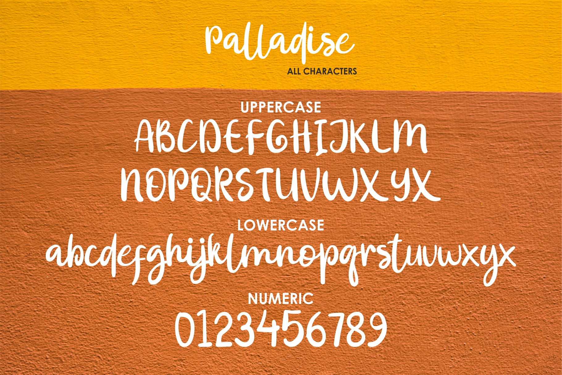 Palladise Cute Font example image 8