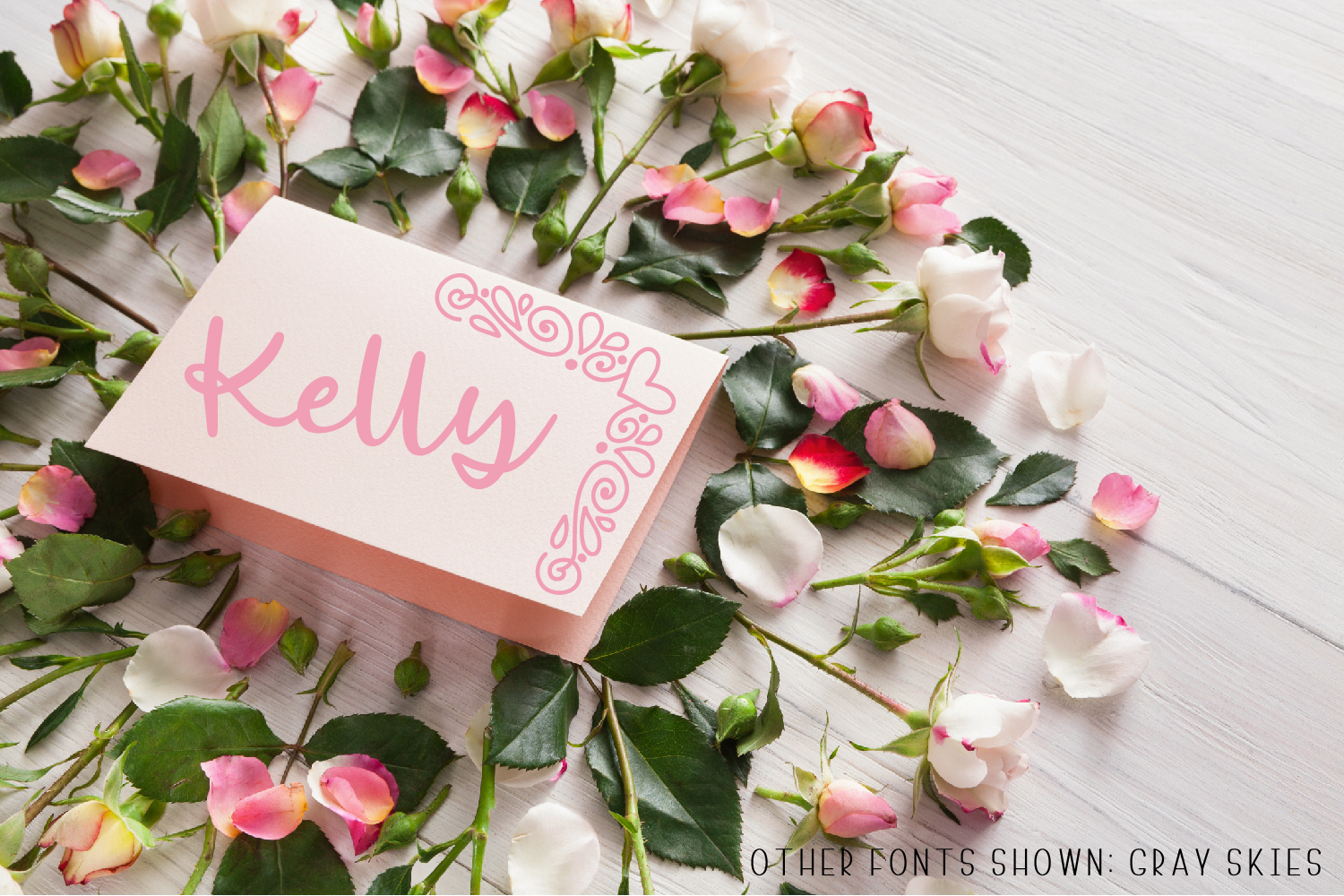 Ornament Font - The Perfect Accessory to Your Designs!  example image 3