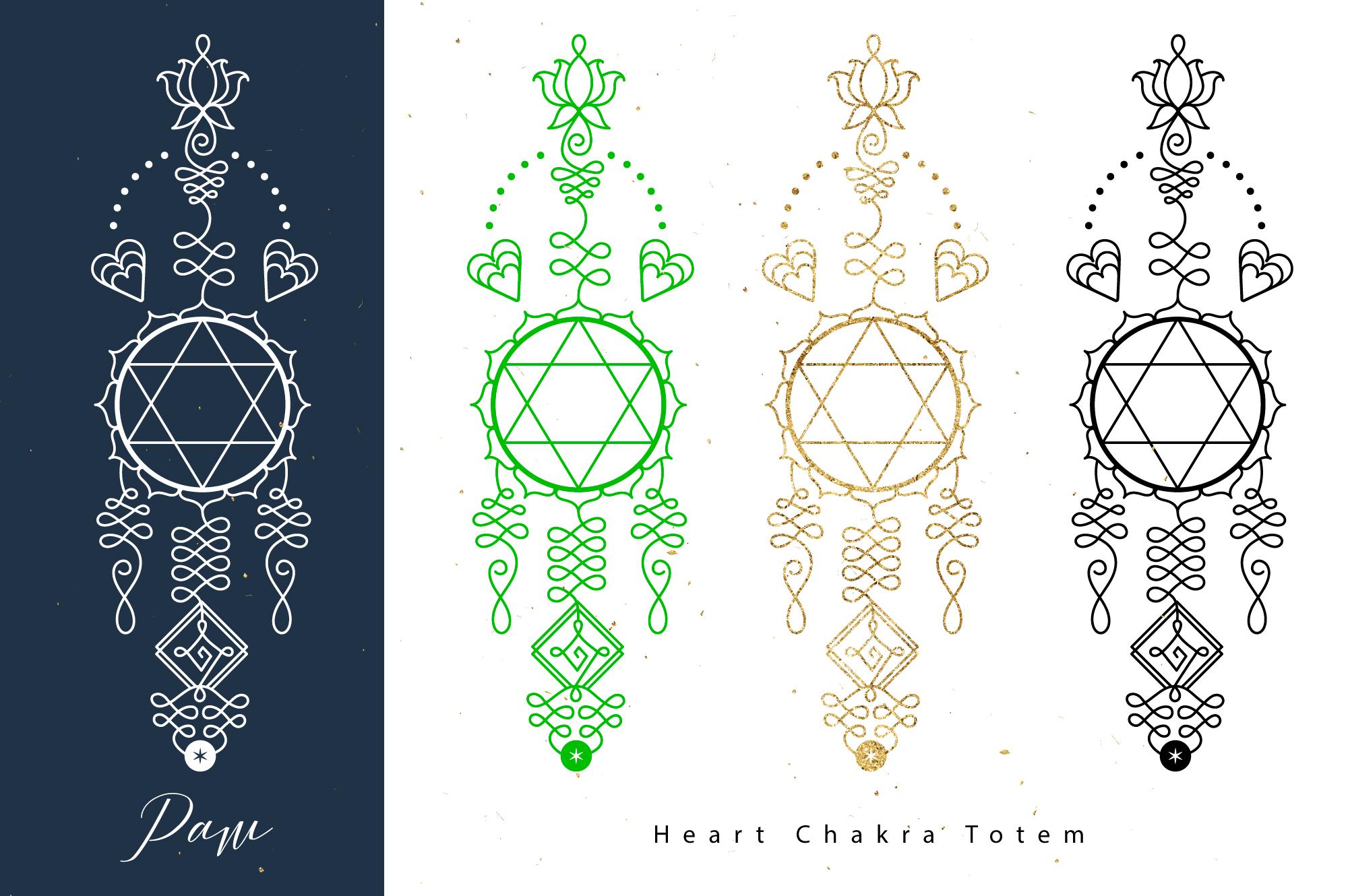 Chakras Totems example image 4