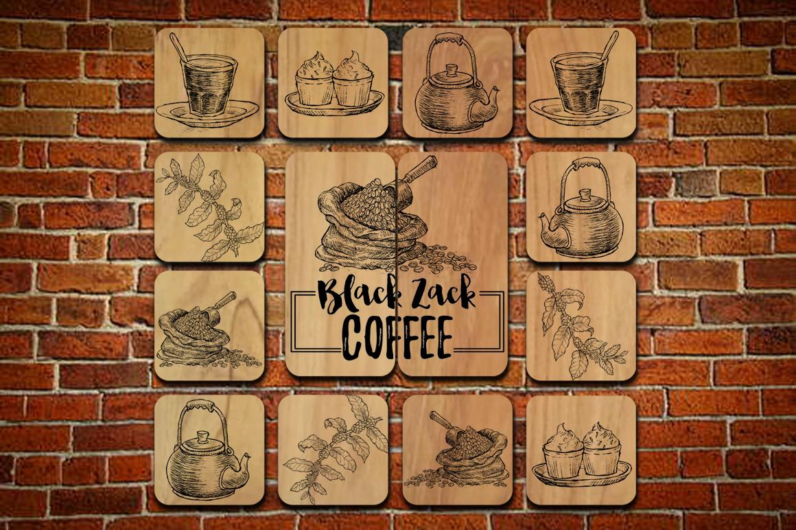Watercolor Coffee (promo 50%) example image 8