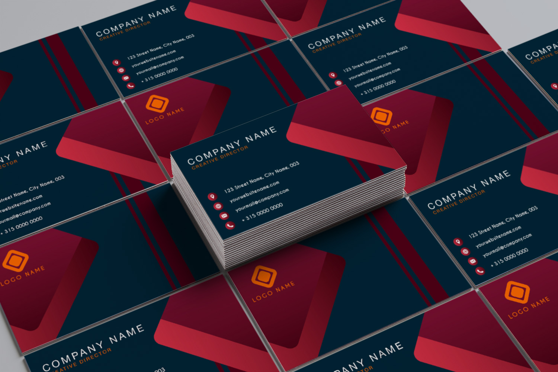 modern minimalist business card template 271323