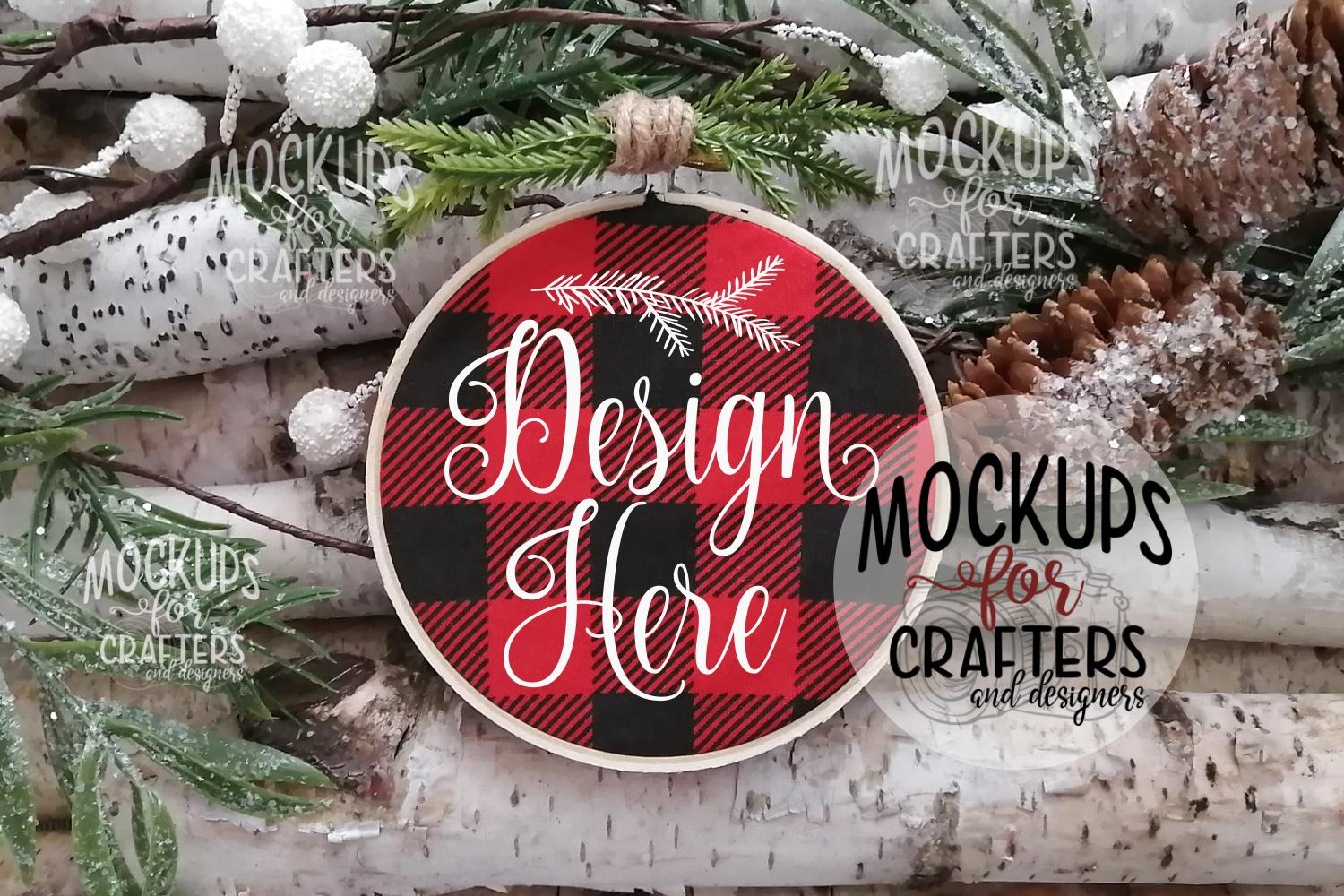 Ornament Bundle #5 - EIGHT ORNAMENT MOCK-UPS example image 5