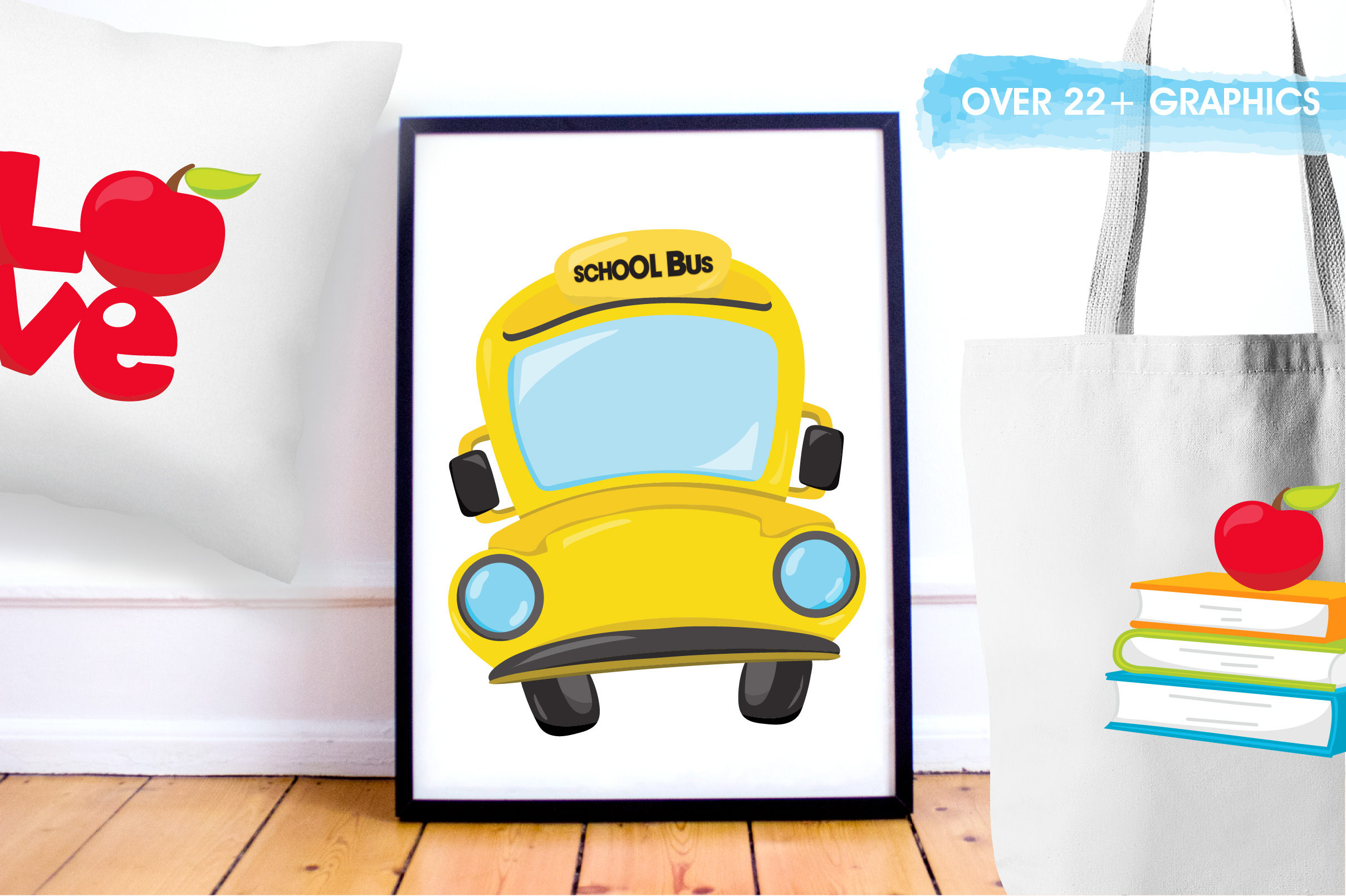 Back to school graphics and illustrations example image 5