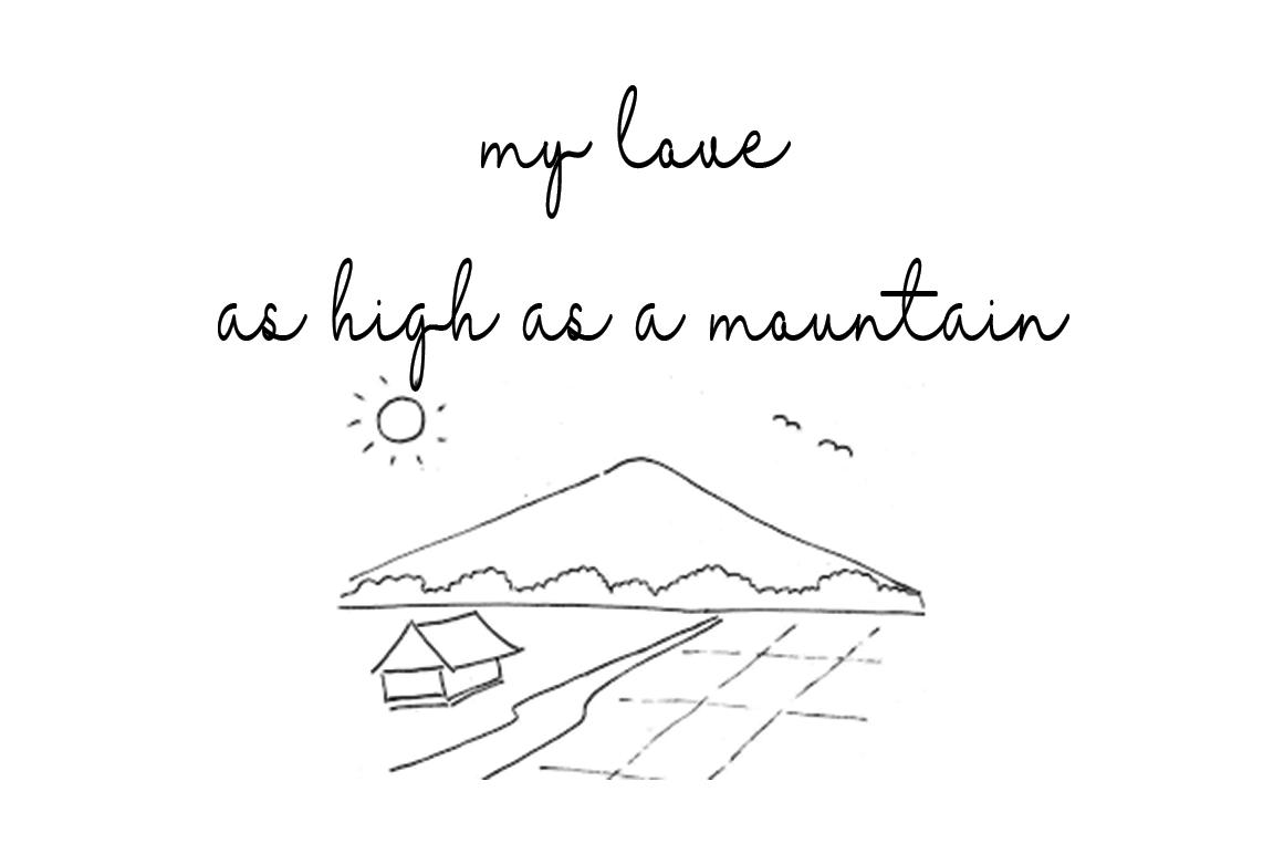 Michalline (line Script) example image 2