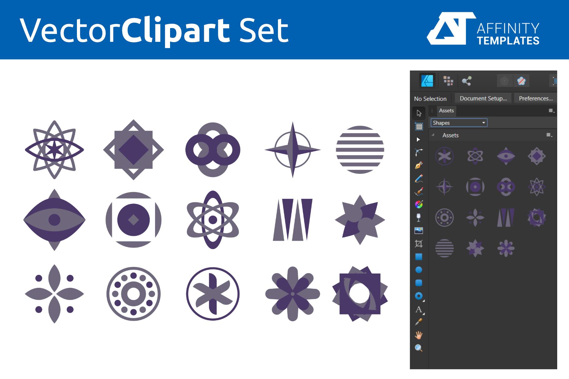 Affinity Designer Clip-atrs Bundle example image 14