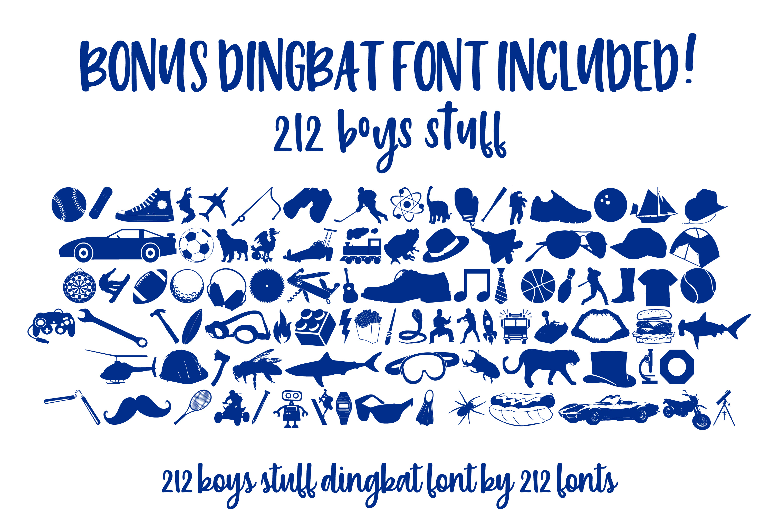 212 Phoenix Wild Font Trio of 2 scripts and sans font family example image 14