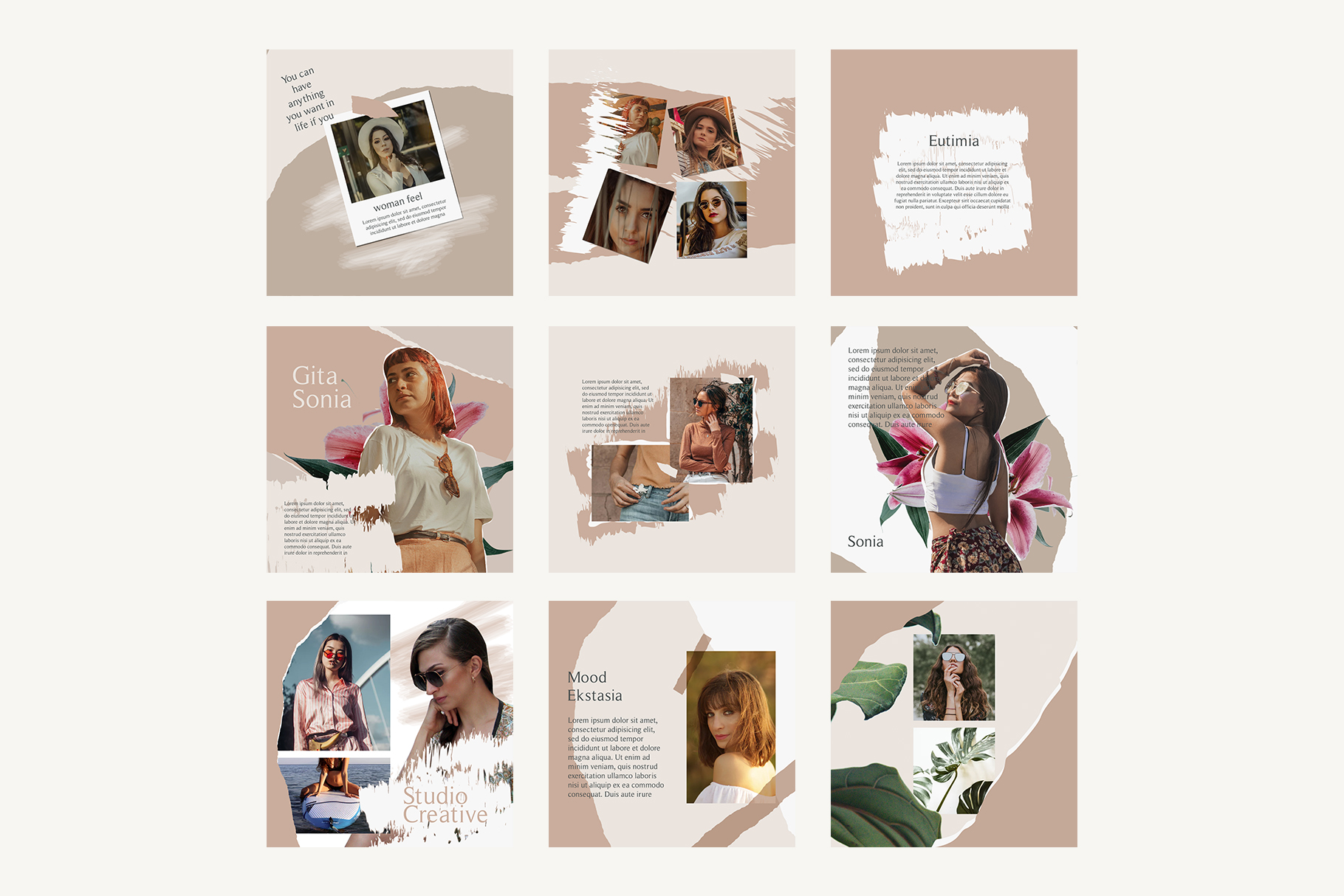 Moody Instagram Templates example image 7