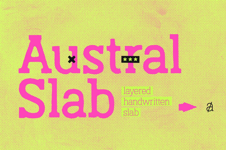 Austral Slab Blur example image 2