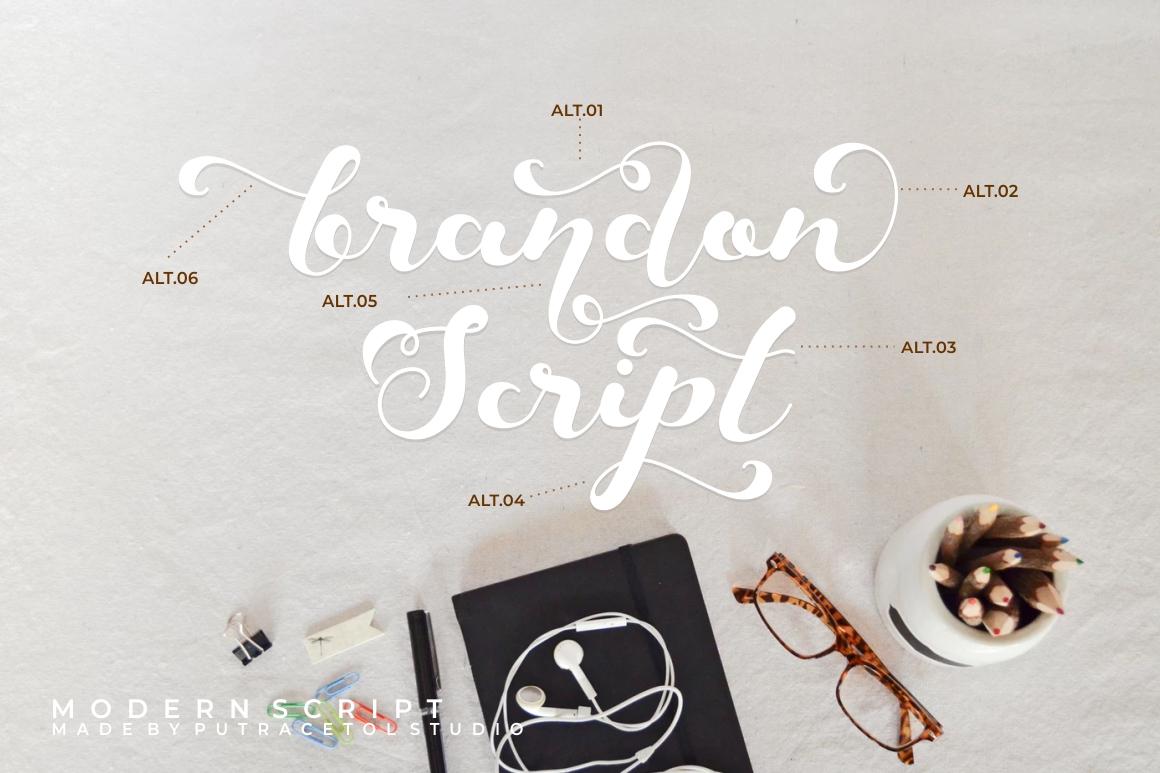 Keshia Script Font example image 2