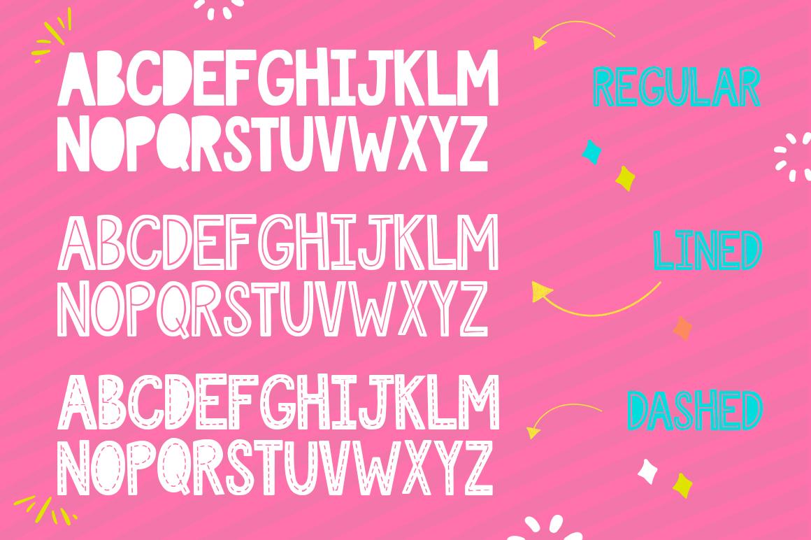 Love Sucks Font Trio example image 4