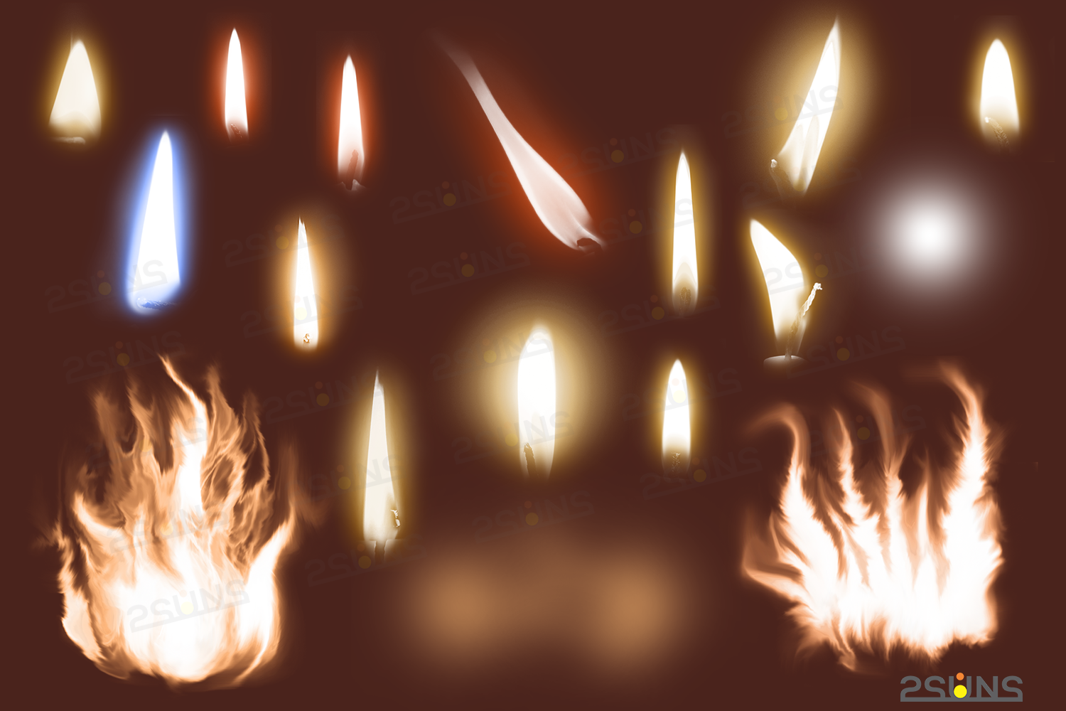Christmas overlays Candle flame png Fireplace overlays example image 2