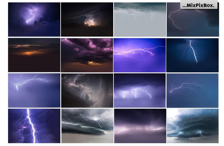 Lightning Photo Overlays example image 7