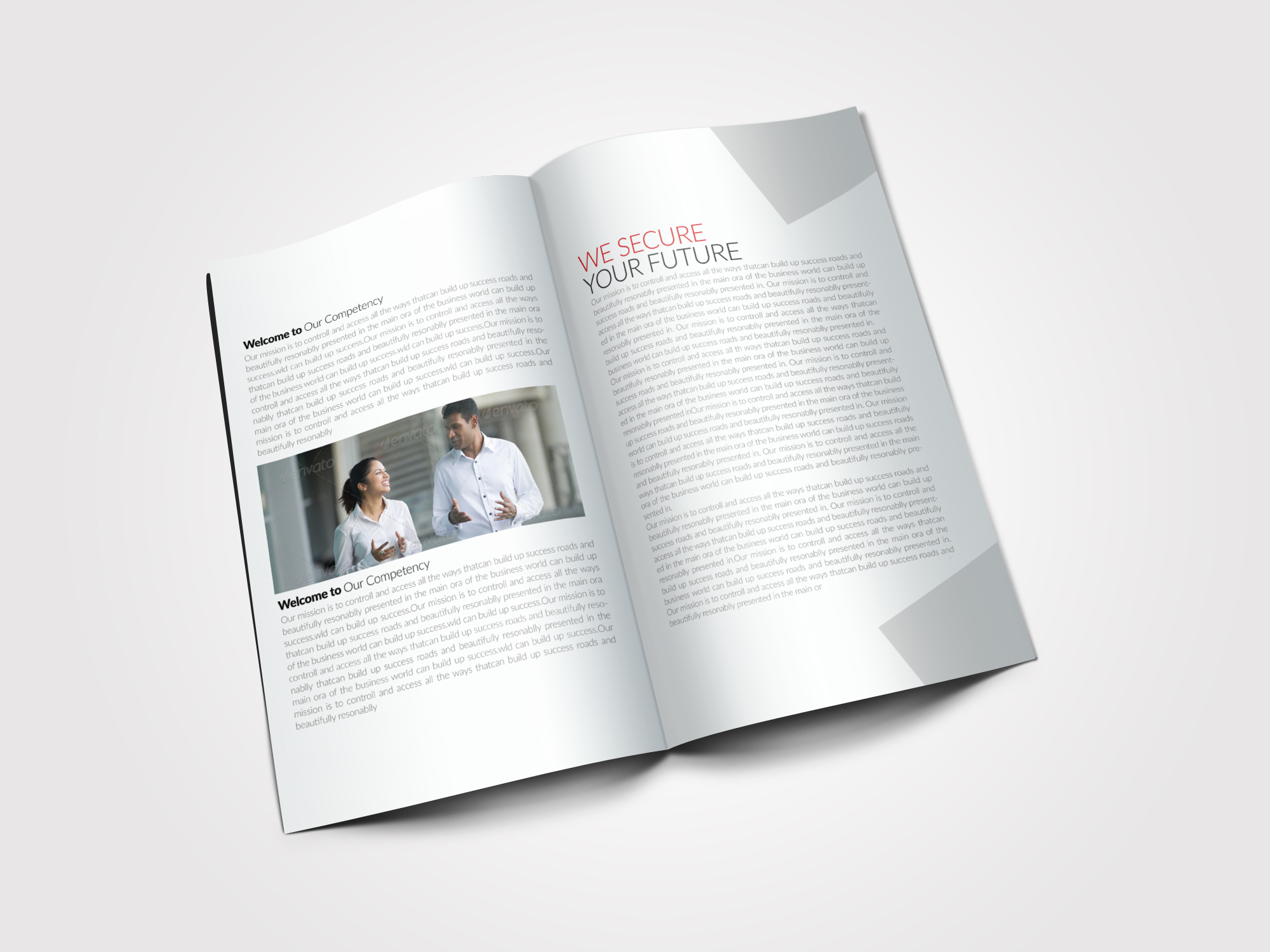 8 Pages Business Bifold Brochure example image 3