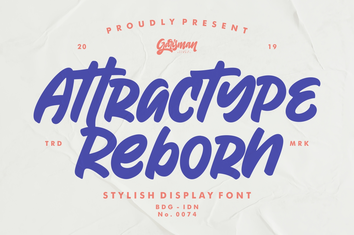 Attractype Reborn - Stylish Display Font example image 1