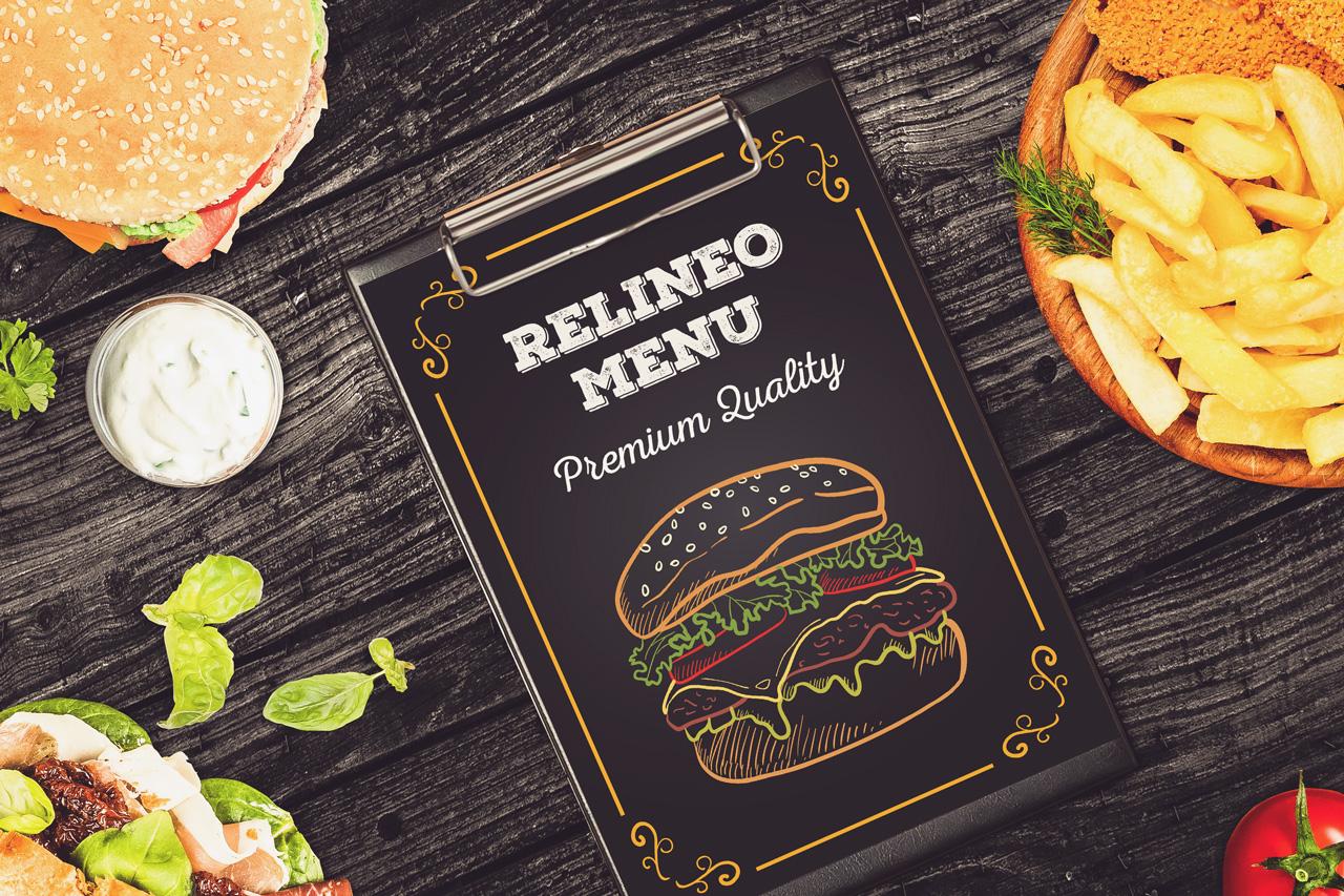 Fast Food Menu Mock-up Pack#2 example image 5