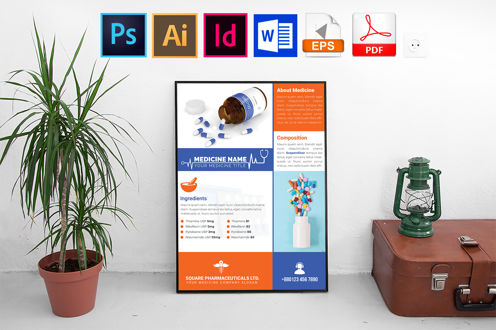 Poster | Medicine Promotional Vol-02 example image 1