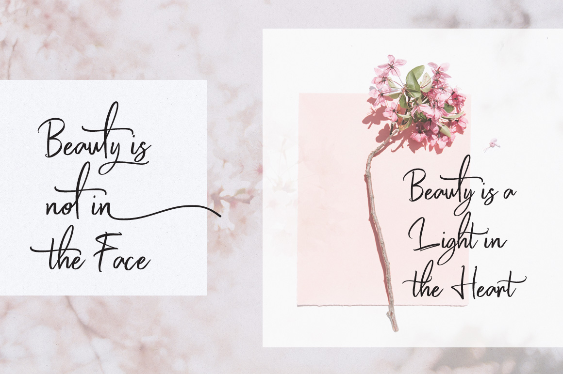 Hello Beauty - Handwritten Font example image 2