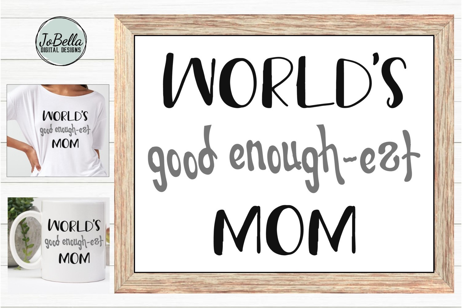Funny Mom SVG, Sublimation Design and Mother's Day Printable example image 2
