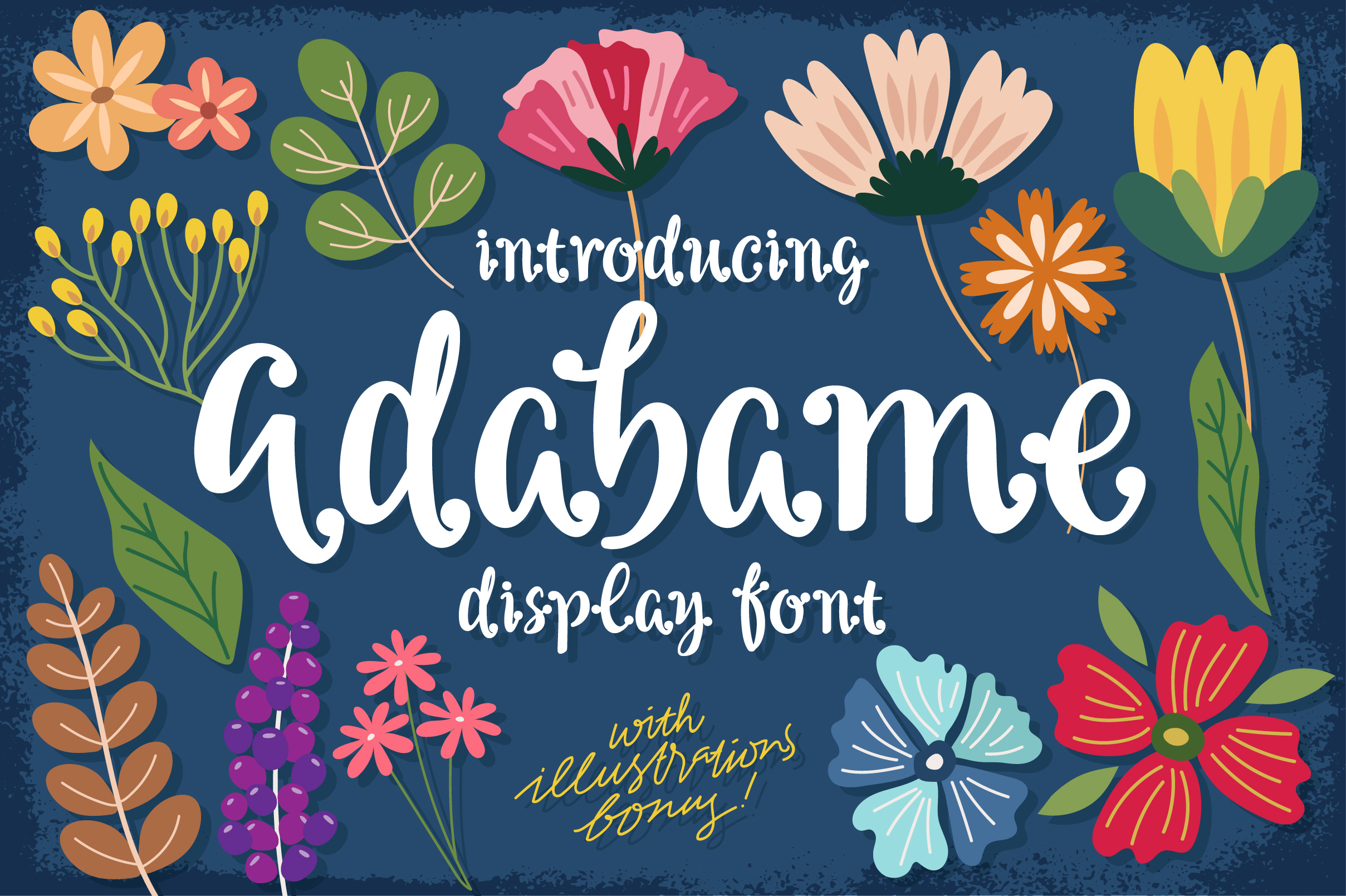 Adabame Font example image 1