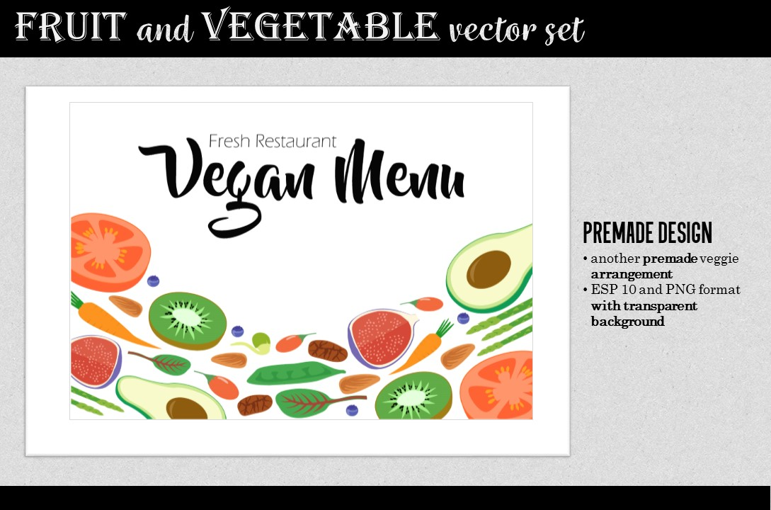 Vegan Design Kit example image 4