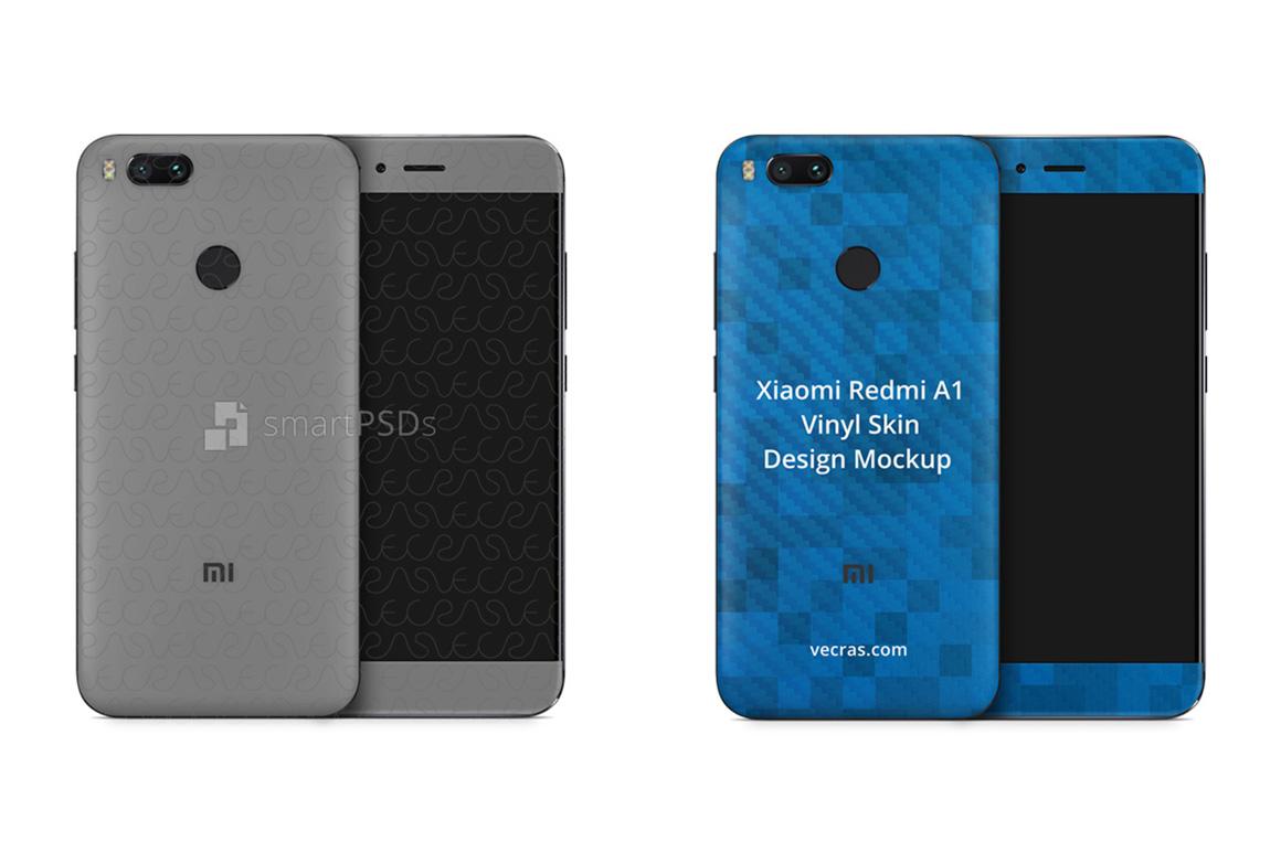 Xiaomi Redmi Mi-A1 Vinyl Skin Design Mockup 2017 example image 1