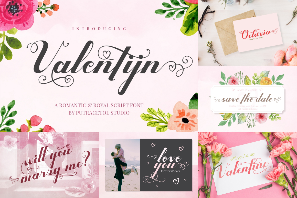Best Crafting Font Bundles! 126 Fonts ! example image 5