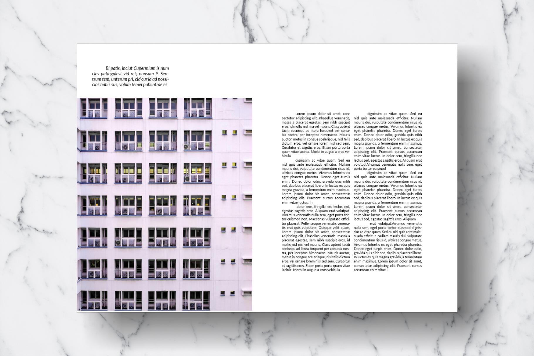 Magazine Template Vol. 13 example image 16