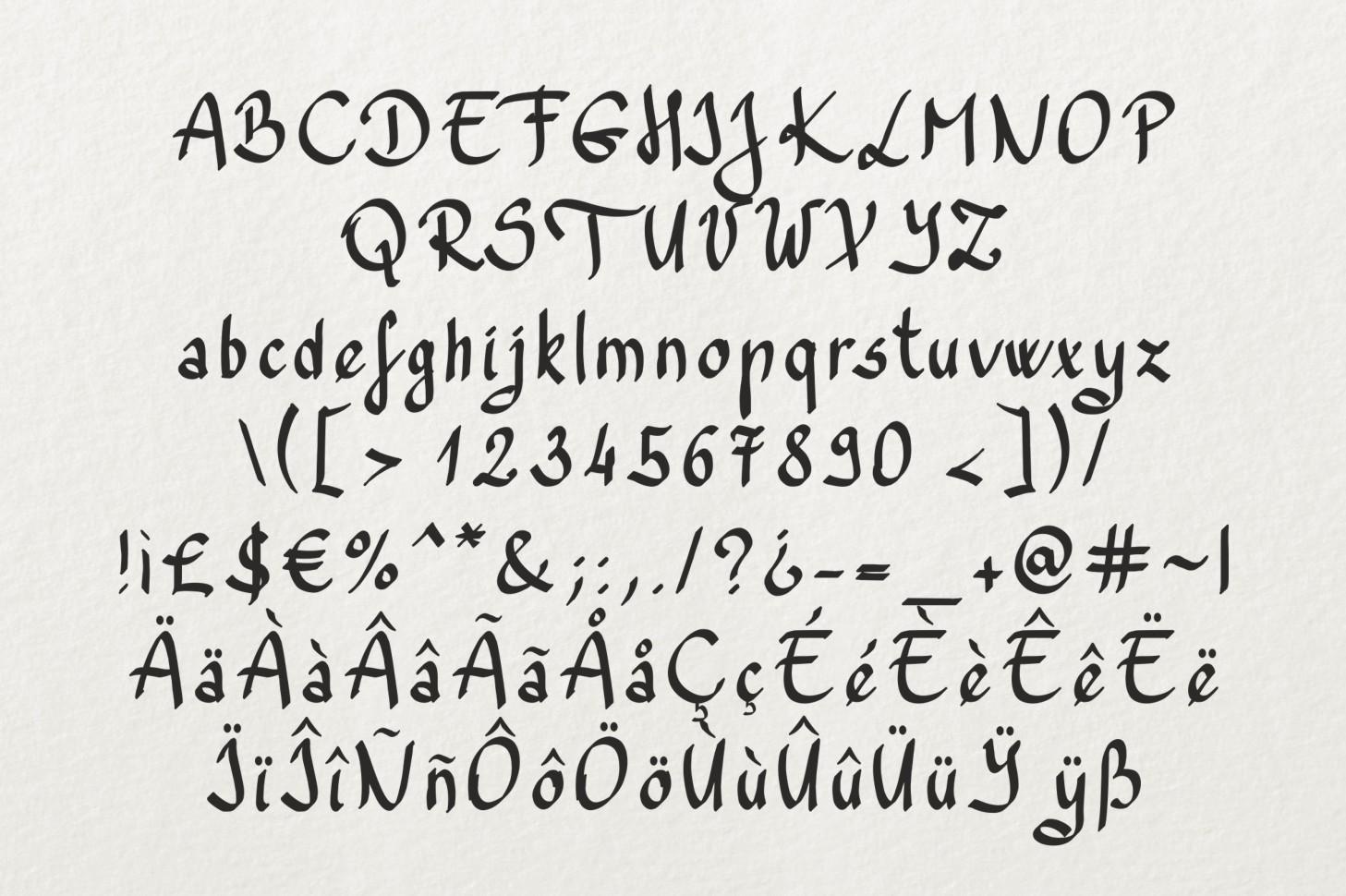 Trefay Font example image 5