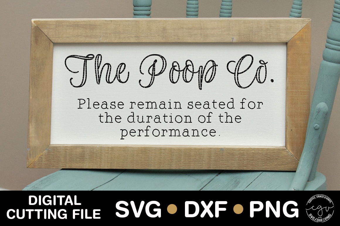 The Poop Co. Please Remain Seated For The Duration example image 1
