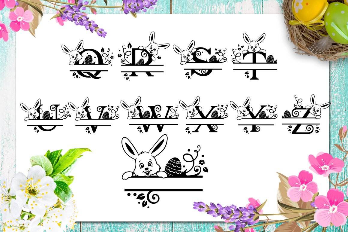 Easter Bundle - 30 Easter SVG files Bundle Easter SVG file example image 9