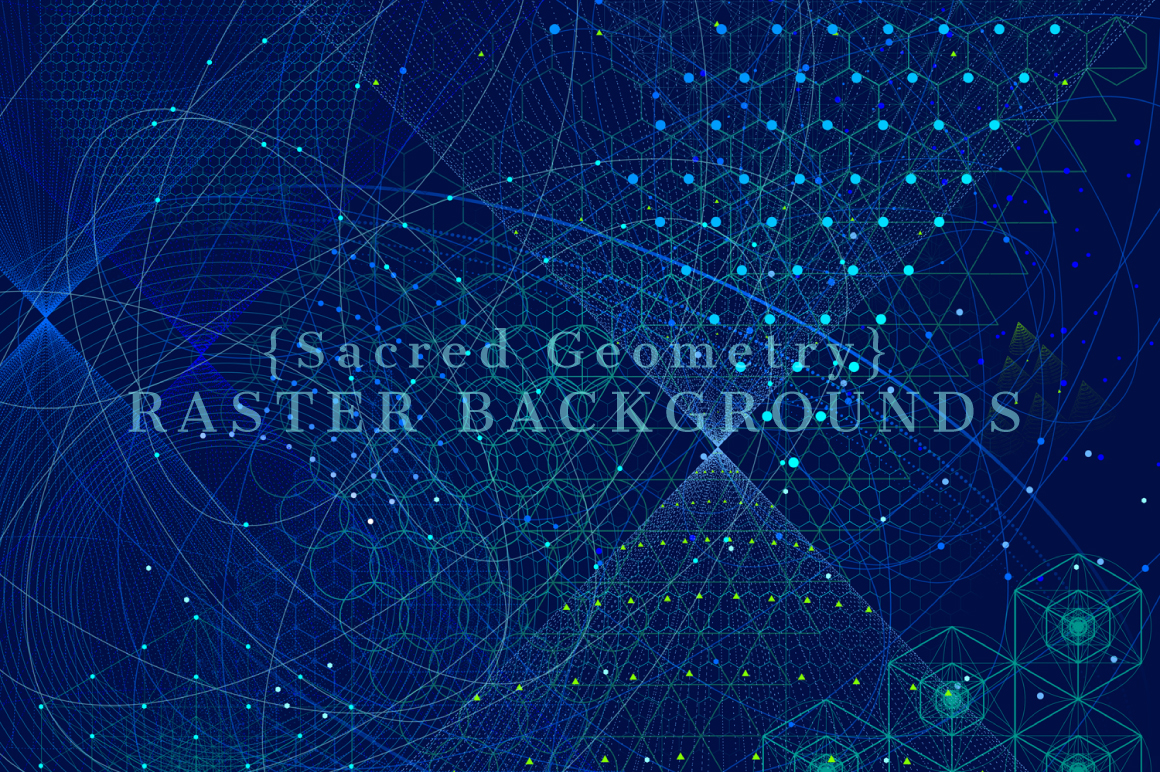 {Sacred Geometry} Raster Backgrounds example image 2