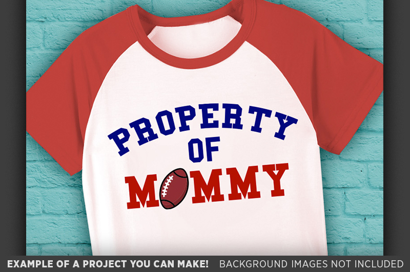 Football Shirt For Kids SVG - Football Designs SVG - 1017 example image 3