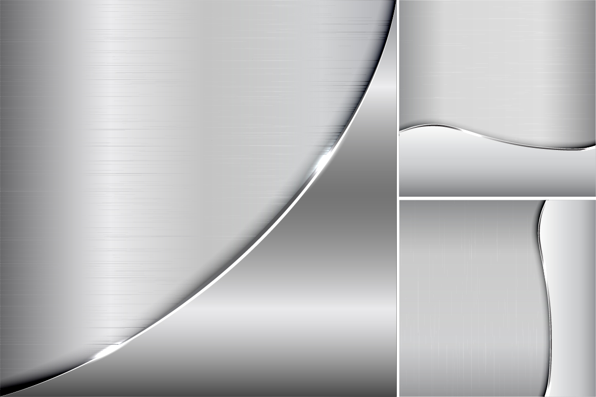 Collection of metallic backgrounds. example image 2