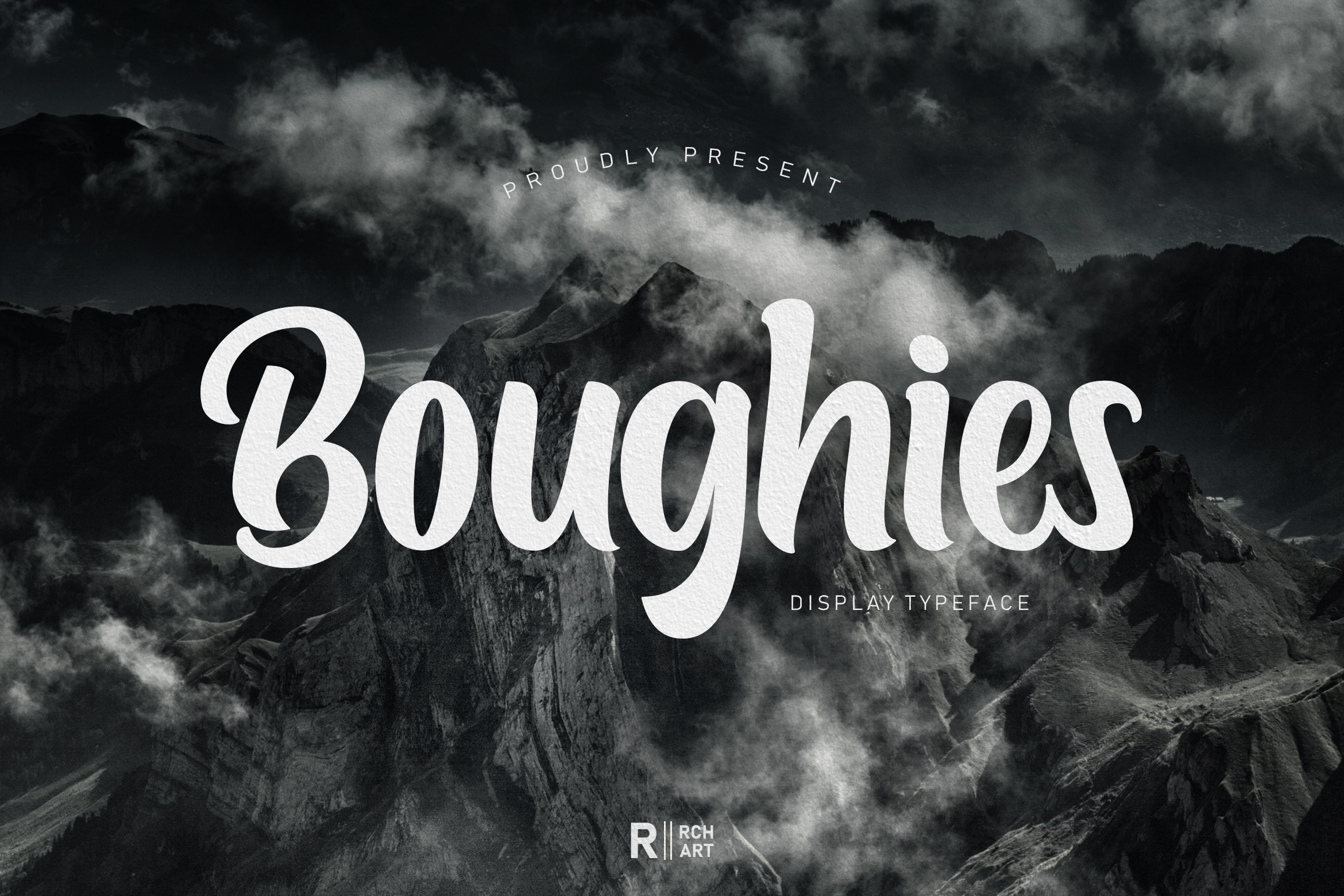 Boughies Display Typeface example image 1